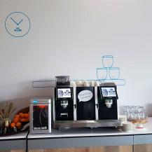 Everrent - Eversys Pro E4m Zelfbediening espresso machine inbouw - The International